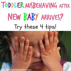 Bringing home a new baby really shakes up things for a toddler. It's natural for him or her to regress into some old behaviors and begin acting completely out of character. It's one of those not-so-fun stages of parenthood, but it is just a stage. While i