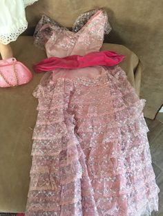 """Reading Sweet Rosemary 30"""" doll. In original box. Some surface dirt from years of storage. With original box. 