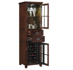 The Tresanti Ec1066rw24 O128 18 Bottle Dakota Wine Cooler Pier Has Style And Performance