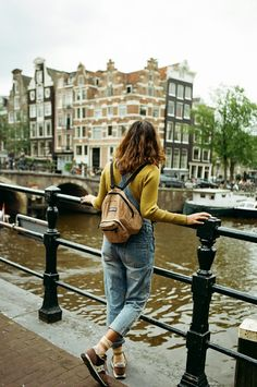 girl, adventure, and amsterdam afbeelding