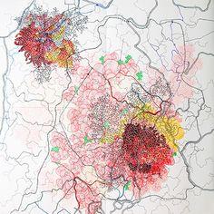 Cartografia Tiffany Chung, referente externo