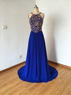 Long Prom Dress Prom Dress 2016 Spaghetti Straps von DressCulture