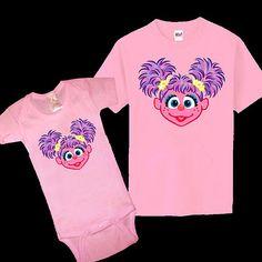 Mom costume-Sesame Street Abby Cadabby Baby One Piece Kid Youth Adult T Shirt All Sizes | eBay