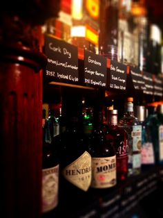 Take the Gin Journey in the Granville Hotel and find the perfect combination of Gin and Tonic from our varied selection of both. Whiskey Bottle, Vodka Bottle, Lunch Menu, Gin And Tonic, Journey, Bar, Drinks, Drinking, Beverages
