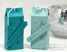 Stampin' Up! Demonstrator Pootles - 6 Bags from 1 Sheet of Cardstock