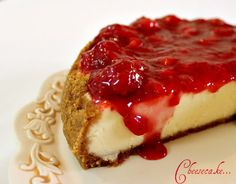 Strawberry topping.