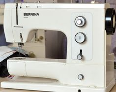 This is the type of Bernina we had in our Fiber Arts lab at art school - the first Bernina I ever sewed on!