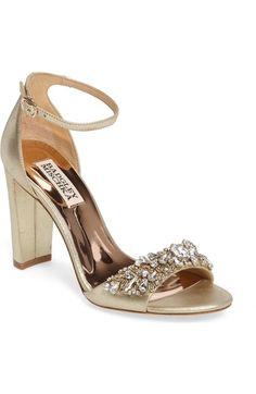 cbda11c1f347 Badgley Mischka Ankle Strap Sandal (Women) available at  Nordstrom Ankle  Strap Sandals