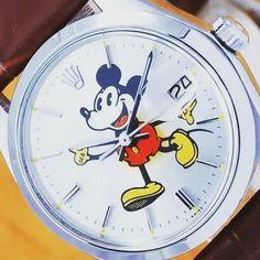 SCOTT DISICK -  Vintage Mickey Mouse Rolex (@disneystyleblog) on Instagram