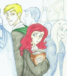 Love love this. :)  It's Scorpius and Rose...but it could also work as Draco and me. :)