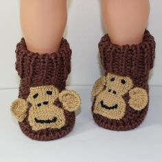 This is my Toddler Monkey Boots knitting pattern. I have never designed toddler…