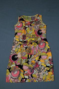 RARE Vintage Vtg 1960s 60s Pucci-esque by madampopoffvintage