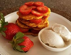 Pumpkin Fritters Recipe (Paleo Pancakes) Contains No Sugar, Gluten or Wheat Flour - Tasty & Healthy. Pumpkin Recipes, Paleo Recipes, Yummy Recipes, Paleo Diet Shopping List, Pumpkin Fritters, Paleo Pancakes, Food For Digestion, Paleo Breakfast, Breakfast Skillet