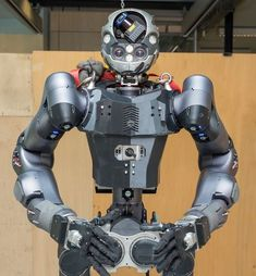 WALK-MAN humanoid robot from IIT