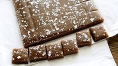 Salted Whiskey Caramels - double sugar, water, and corn syrup