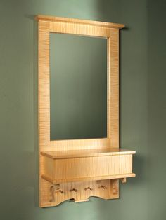 Hallway Mirror - Woodworking Projects - American Woodworker