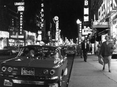 Plaza St-Hubert, Montréal, 1961 (around)