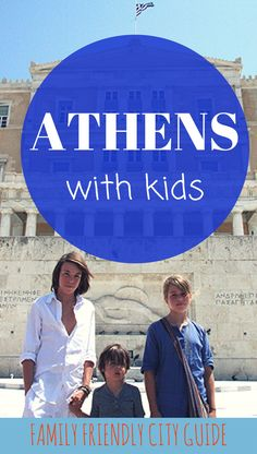 Family Guide to explore Athens with kids : our favorite visits and areas, best hotels and restaurants, practical tips. European Vacation, European Destination, Travel With Kids, Family Travel, Family Trips, Family Vacations, Budapest, Greece With Kids, Greece Hotels
