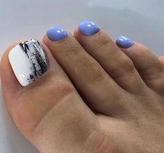 Pretty Toe Nails, Cute Toe Nails, Toe Nail Art, Gorgeous Nails, Love Nails, Pink Pedicure, Manicure Y Pedicure, Bridal Nail Art, Wedding Nail