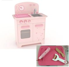 Cherry Blossoms Play Kitchen | HAPE Toys | Online at DirectToys NZ
