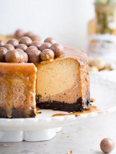 Elena Demyanko: Шоколадно-арахисовый чизкейк с печеньем орео / Peanut Butter Chocolate Cheesecake