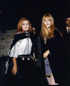 Dalida et Sylvie Vartan