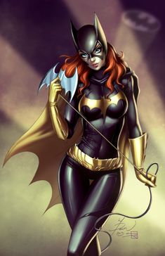 Batgirl Commission Colors by Dawn-McTeigue.deviantart.com on @deviantART