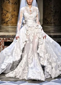 Weddbook is a content discovery engine mostly specialized on wedding concept. You can collect images, videos or articles you discovered  organize them, add your own ideas to your collections and share with other people - Zuhair Murad Dress