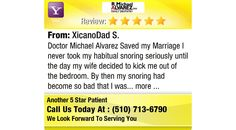 Doctor Michael Alvarez Saved my Marriage I never took my habitual snoring seriously until...