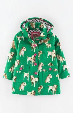 Mini Boden Hooded Rain Jacket (Toddler Girls, Little Girls & Big Girls) available at #Nordstrom