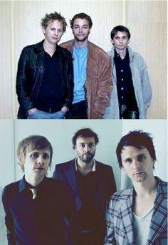 Muse evolution (from Showbiz era to Black Holes and Revelations era)