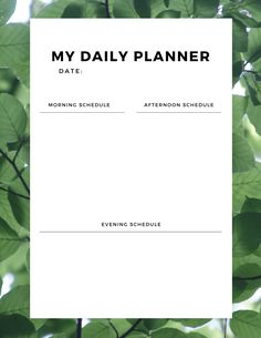 Choose from 50 different designs of free daily planner printables! Made to be simple, vertical calendar prints for your binder or desk. Black and white, minimalist, floral, and other options available. Cute Calendar, Daily Calendar, Print Calendar, Parenting Advice, Kids And Parenting, Daily Planner Printable, Good Advice, Getting Organized, Binder