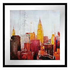 The City Never Sleeps 2 | Destinations-cityscapes | Art-themes | Art | Z Gallerie