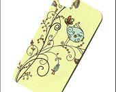 iphone 5 case, retro bird iphone 4 case/iphone 4s case, iphone 4 cover