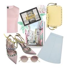 """""""Italy"""" by janicevc on Polyvore featuring Simone Rocha, Wood Wood, Americanflat, Valentino and Linda Farrow"""