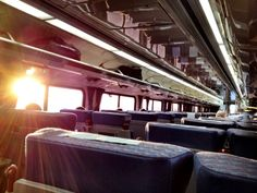 A Californian sunset from onboard the train. Thanks for capturing this beautiful image, @VictorShiuFilms.