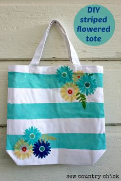 Make a no-sew appliques tote with Martha Stewart Decoupage