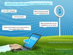 Lo que deberías hacer antes de seguir a alguien en Twitter