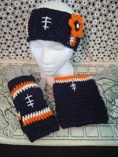 1e0252a4405 Football Headband   Gloves pattern by DACcrochet