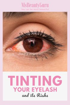 Eyelash tinting helps save much time in your beauty routine, but it is not without its risk. These include some nasty side effects from the use of the dye. If you wish to tint your eyelash, then be aware of these side effects. Eyelash Tinting, Eyebrow Tinting, Eyelash Serum, Eyelash Growth, Eyebrow Pencil, Longer Eyelashes, False Eyelashes, M&s Beauty, Mascara Review