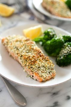 Try this easy Hemp and Pecorino Crusted Salmon recipe! You'll love the added texture from the Hemp Hearts and the salty flavor from the Pecorino Romano.