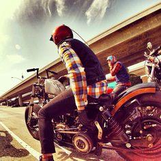 under the overpass... #motorcycle #motorbike