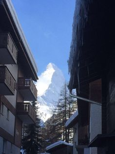 Zermatt #today! #Beautiful #clear #skies! #matterhorn #WishIWasHere
