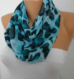 Items similar to ON SALE - Leopard Infinity Scarf Shawl Circle Scarf Loop Scarf Gift -fatwoman on Etsy Loop Scarf, Circle Scarf, Next Ladies Fashion, Womens Fashion, Barcelona Fashion, Leopard Scarf, Spring Summer Fashion, Autumn Fashion, Fat Women