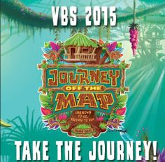 "VBS 2015 ""JOURNEY OFF THE MAP""  #lifeway #vbs2015 #journeyoffthemap"