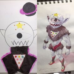 A gallery of the work of French animator Thomas Romain who converts his kids' drawings into awesome anime characters. Anime Dad, Doodle Coloring, Beautiful Drawings, Awesome Anime, Father And Son, Anime Characters, Art Gallery, Character Design, Doodles