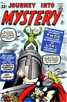 Journey Into Mystery Vol 1 85. Por Jack Kirby, Dick Ayers, Stan Goldberg y Artie Simek. #Thor #JackKirby