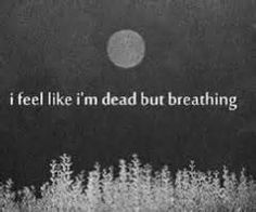 I'm dying but no one can see....