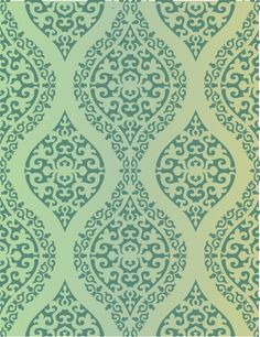 Moroccan wall covering damask stencil in a unique and original design. Design from Leslie Nesbitt with Rhythmic Walls..