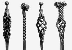 wrought iron Fireside Pokers